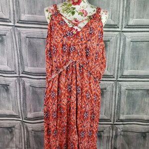 Xhilaration summer maxi dress (3x)